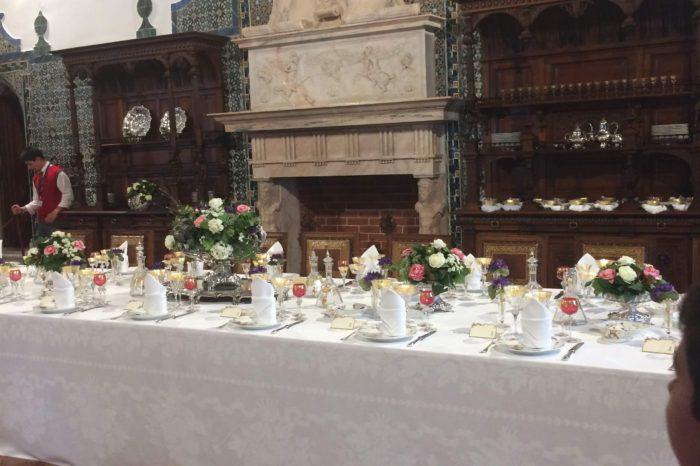 Salle a manger château de sintra