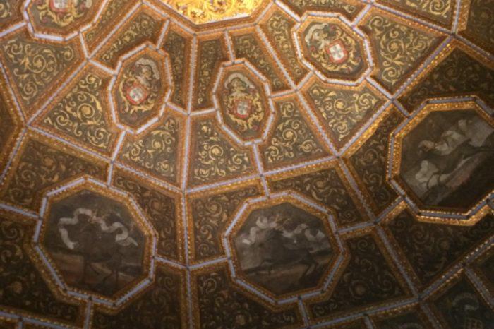 Salle des blasons château de Sintra